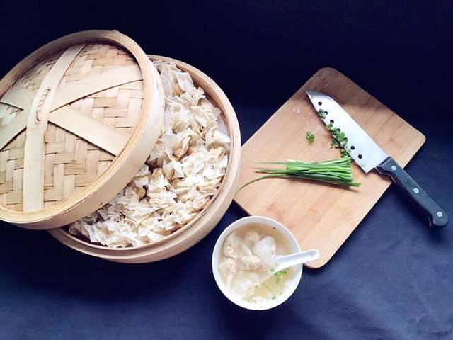 【蝶的美食厨房】福州肉燕_做法:肉燕皮,肉馅