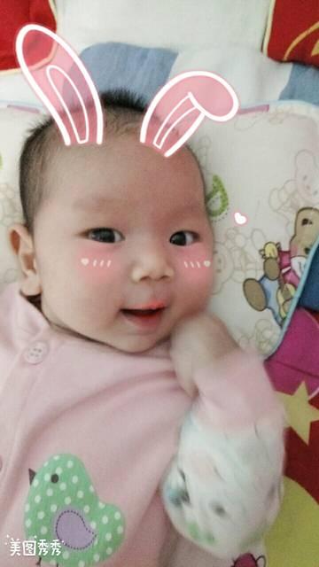 两个月宝宝身高体重_我家宝宝7月28日出生女